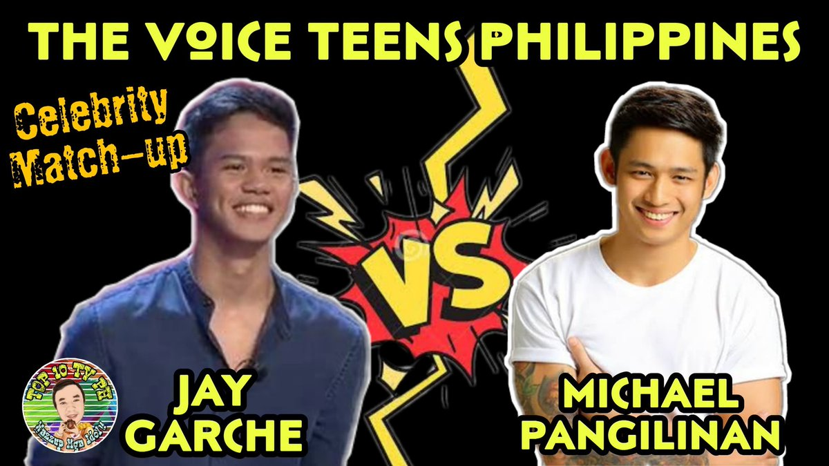 CELEBRITY MATCH-UP  Jay Garche Vs Michael Pangilinan The Voice Teens Philippines Watch it here 👇👇👇 https://t.co/uNUlKRvEEs #jaygarche #michaelpangilinan #kungsakali #celebritymatchup #TheVoiceTeens2020 #thevoice #thevoiceteensph #TheVoiceTeens https://t.co/MnvJevSeQg