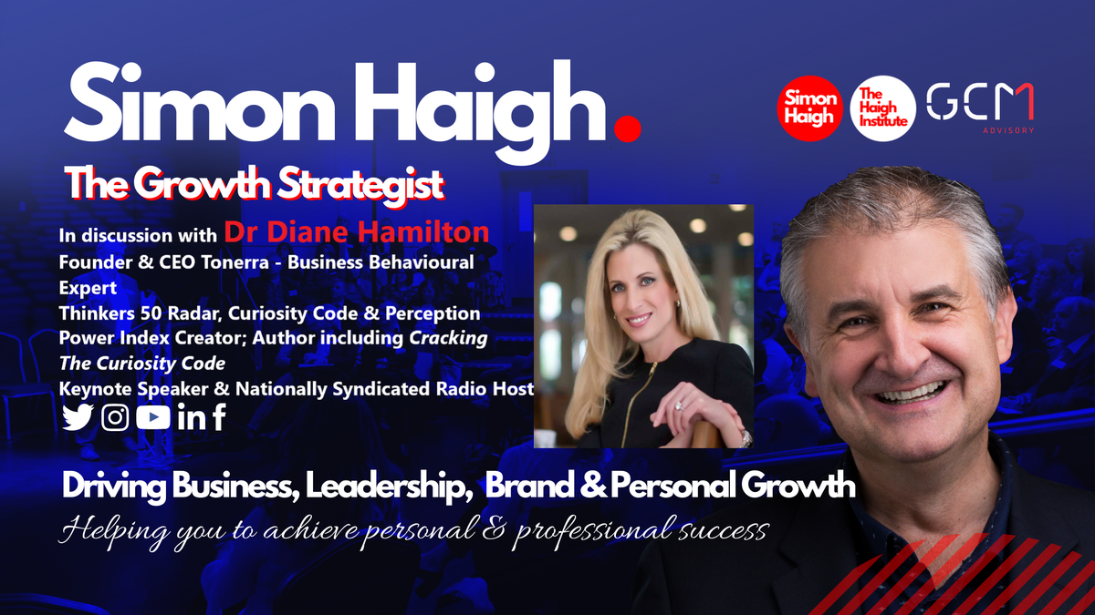 I am very much looking forward to this upcoming chat with @DrDianeHamilton  Amongst other things we will discuss the power of Curiosity and Perception @sparklingsusie  @Ire_Together @WomensInspireIE  #power #curiosity #perception #leadership #growth #growthstrategist https://t.co/te1v7oqeJ6