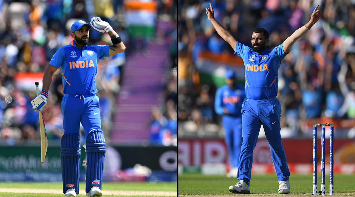 Virat Kohlis 67 or Mohammed Shamis hat-trick - which was more crucial in #TeamIndias win over 🇦🇫 in the ICC #CWC19? #ReLive the ⚔️ with #IndiavTheWorld: ⏳: July 13, 11 AM 📺: Star Sports 1/1HD/2/2HD/3/1 Hindi/1HD Hindi/First