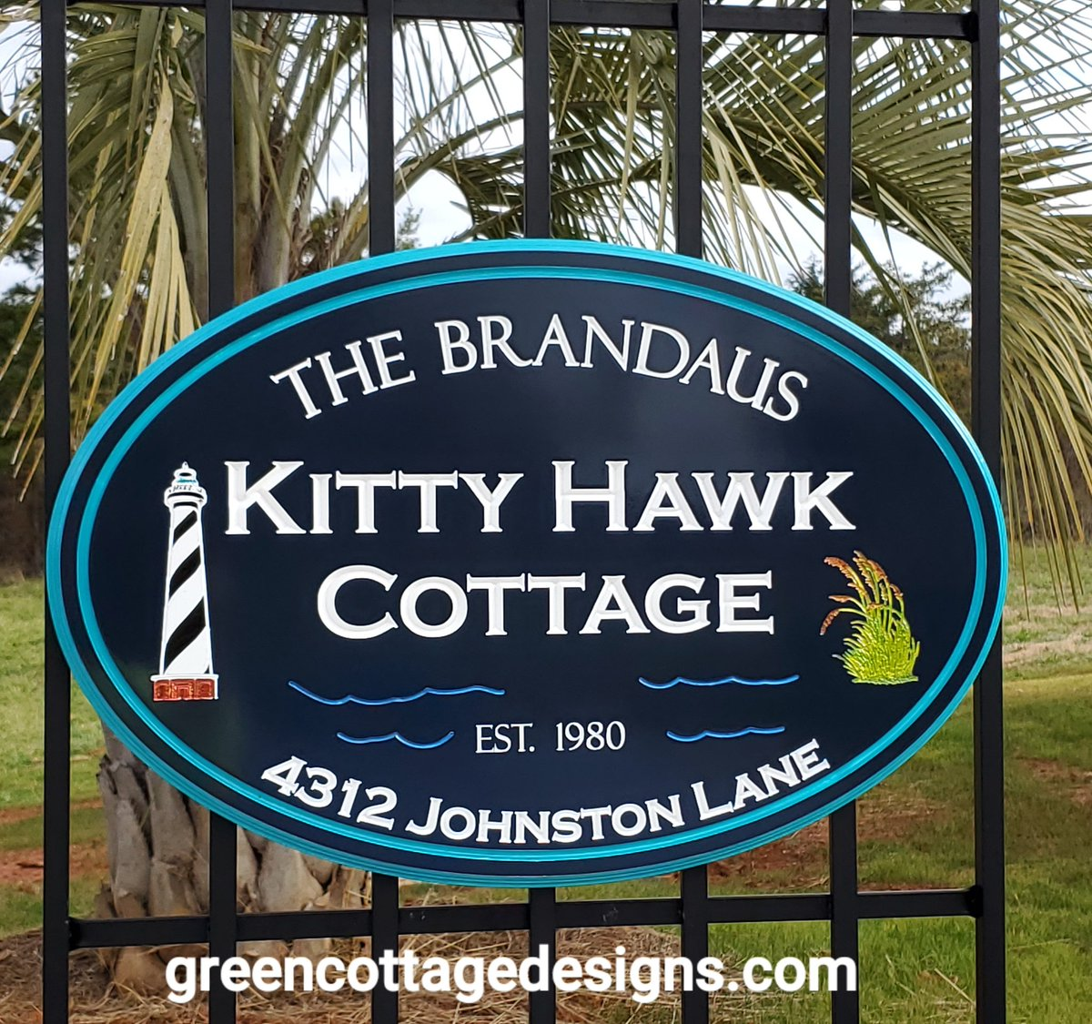 OUTER BANKS COTTAGE SIGNS by http://greencottagedesigns.com  #obx #KittyHawk #NagsHead #Topsail #holdenbeach #DuckNC #RaleighNC #customsignspic.twitter.com/IWGtYDQ479