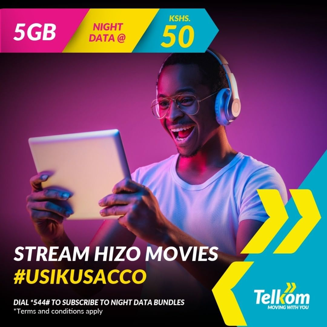 With 5GBs, you can watch a whole series, download albums, stream your fave movie and so much more. Subscribe now with @telkom_ke for only 50 bob #VMessentials https://t.co/oHwQgwOLVd