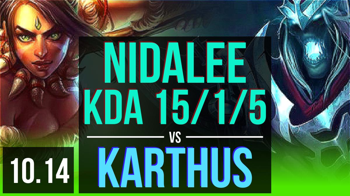 NIDALEE vs KARTHUS (JUNGLE)   KDA 15/1/5, 900+ games, Legendary   KR Master   v10.14  https://www.youtube.com/watch?v=Dg2iI_NubD4…  #LeagueOfLegends #lolReplaypic.twitter.com/NpOGIFjRhP