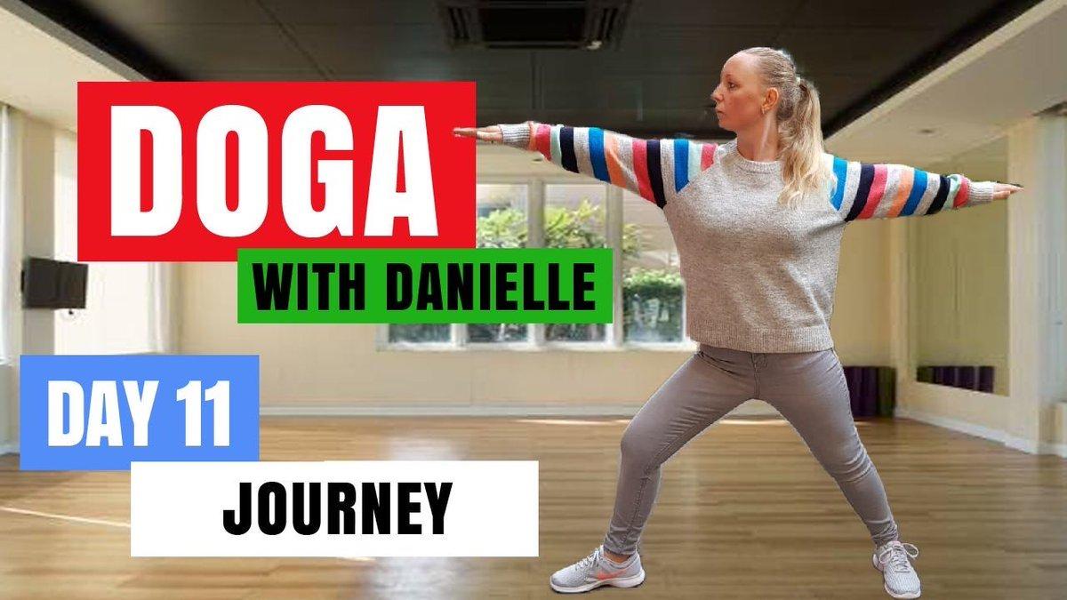 Day 11 - Journey • #DogaWithDanielle.  #ChildOfGod #ChildOfGodTeam #ChildOfGodMovement #Doga #Yoga #Movement #Breathe #Breathing #Health #Fitness #Malshi #Shitsu #Maltese #Dog #DogLover #LucyTheMaltese #MentalHealth #Spirituality #Recovery #Connection  https://t.co/fCVkn5sv5j https://t.co/TcxpMshWVg