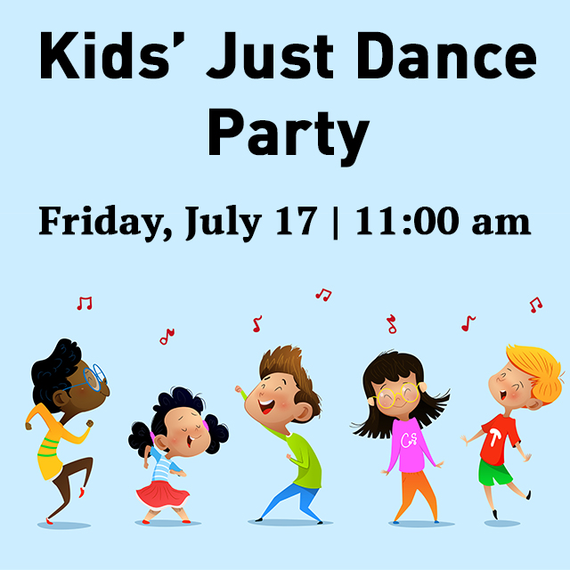 Celebrate the end of the week with our next Kids' Just Dance Party! RSVP today at https://t.co/Om5KvUK2Al #TCSCC https://t.co/FrYGznh2nO
