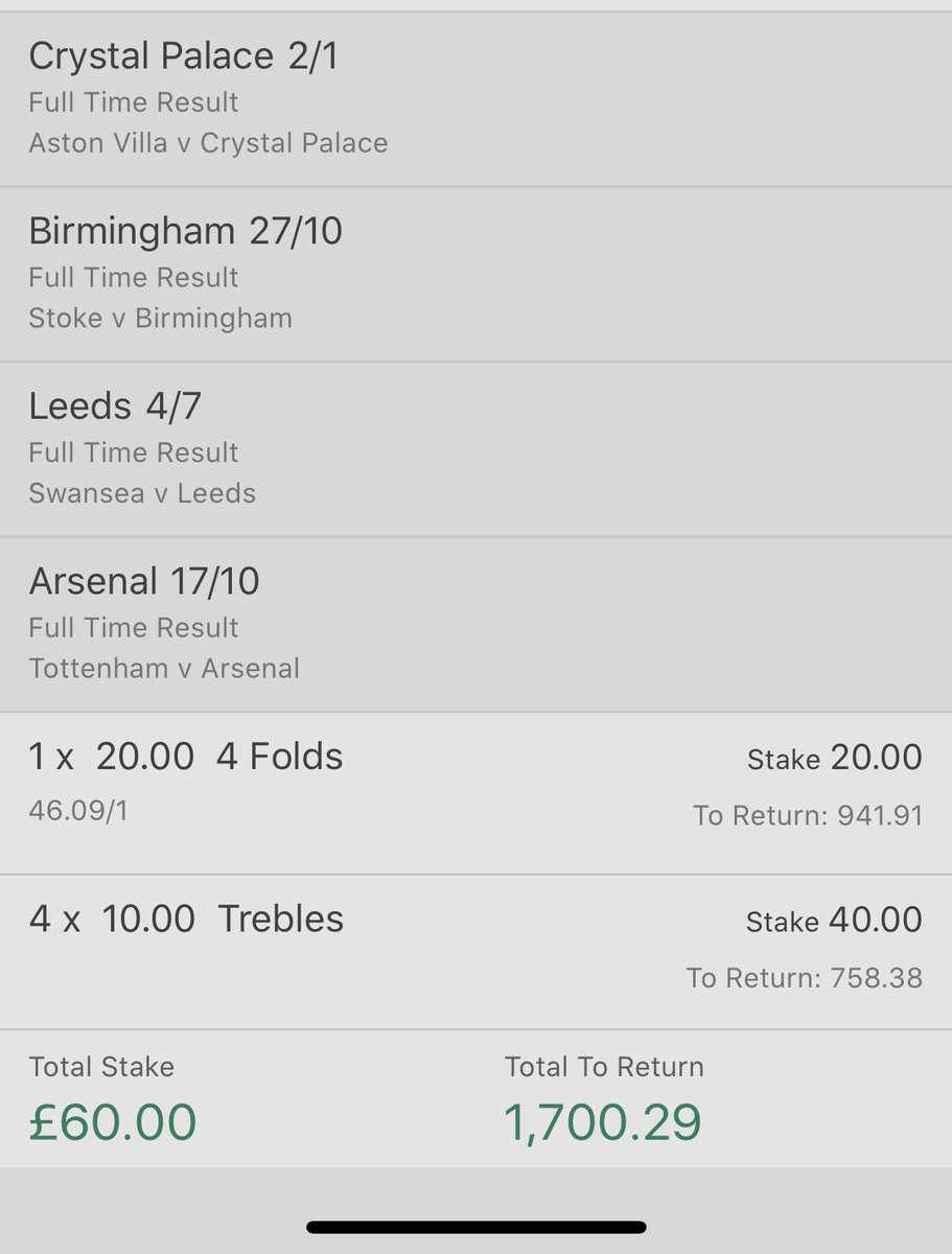 Today's acca on @bet365 can you tell I support blues with the first 2 pics #football #accapic.twitter.com/UOJ792G9AQ