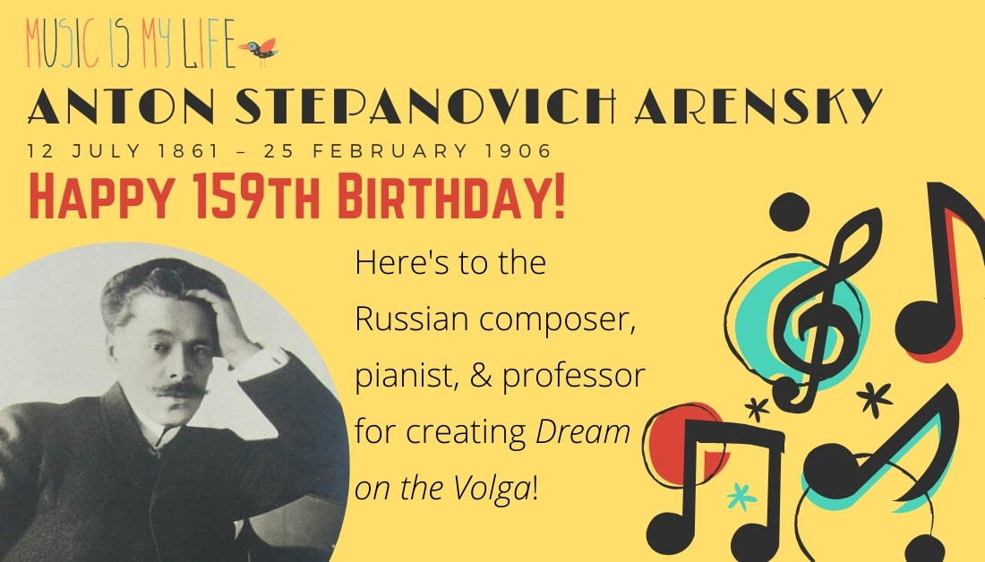 #HappyBirthday #AntonStepanovichArensky #VelikyNovgorod #Zelenogorsk #Russia #SaintPetersburgConservatory @mosconsv Thank you for #composing #DreamontheVolga! #MusicIsMyLife pic.twitter.com/fLCZOSpvCs