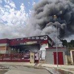 Image for the Tweet beginning: El foc a Sant Vicenç