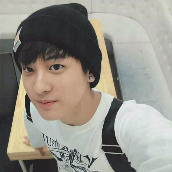 nothing changed, he is still iKON's big baby Jung Chanwoo  <br>http://pic.twitter.com/p6xkskpN2q