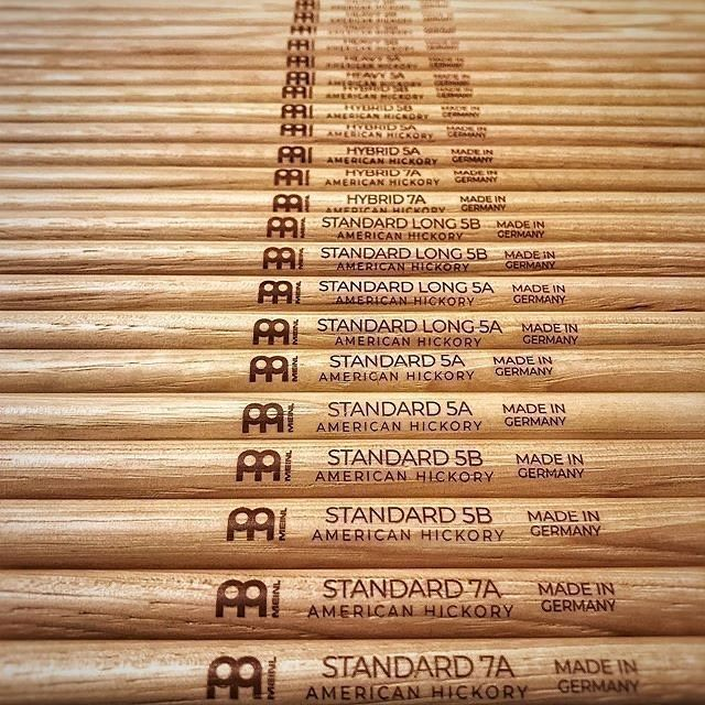 Our Meinl drumstick assortment is clear and focused. Every drummer will find at least one favorite pair in our line. #meinlstickandbrush #meinlsticks #meinl #drumsticks #drummer #drums #cymbals https://t.co/yoqnJf7ySk