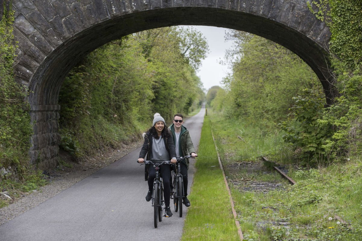 Home to one of Ireland's greatest Greenways, Glide through Athlone with B&B for two from €129. Pedal into adventure when you book here https://t.co/8BtetEv34u  #DreamNowTravelLater #iNUACollection https://t.co/Udbim1lgmc