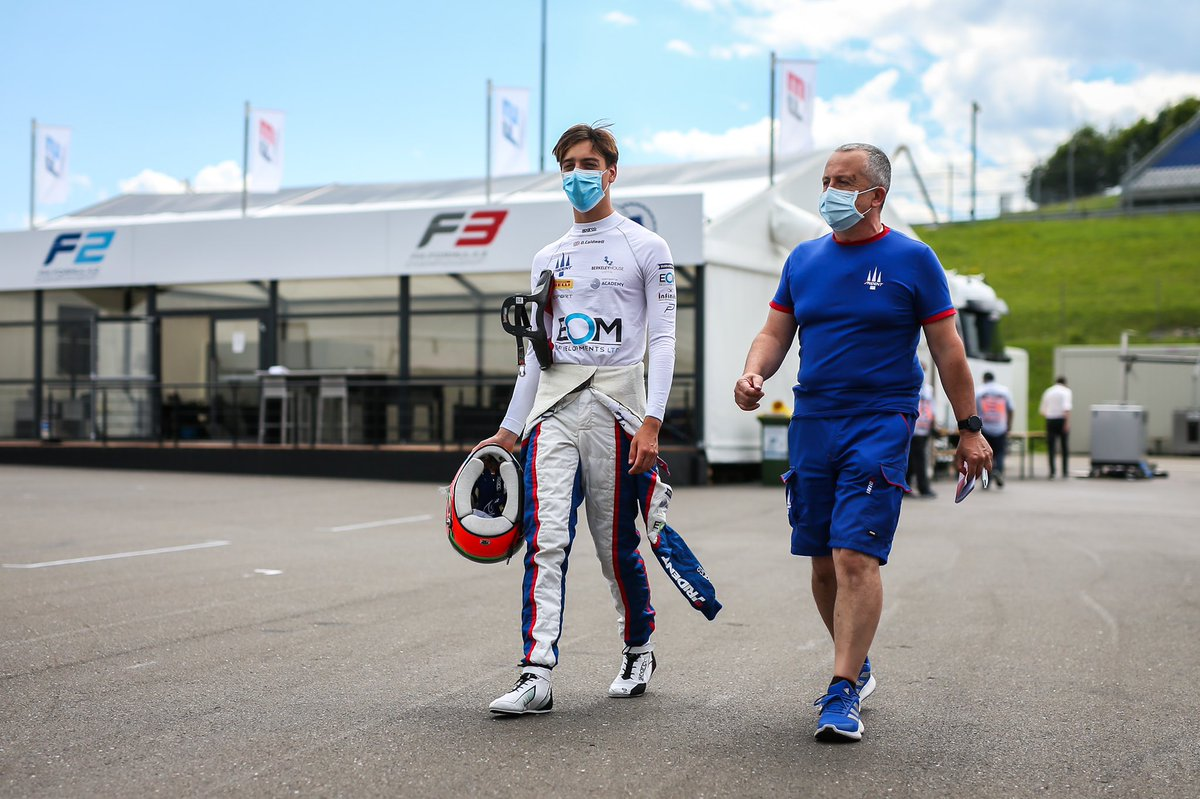Another strong points finish💪🏽 Thanks to the team for the car and my partners!  @trident_team @StiloOfficial @SparcoOfficial @ExgelMotorsport @hildon_water @Flexjet @ourmotorsportuk   📸 - @dutchphotoagency  • • #TeamOC #FIAF3 #AustrianGP https://t.co/tsTM7MLVBS
