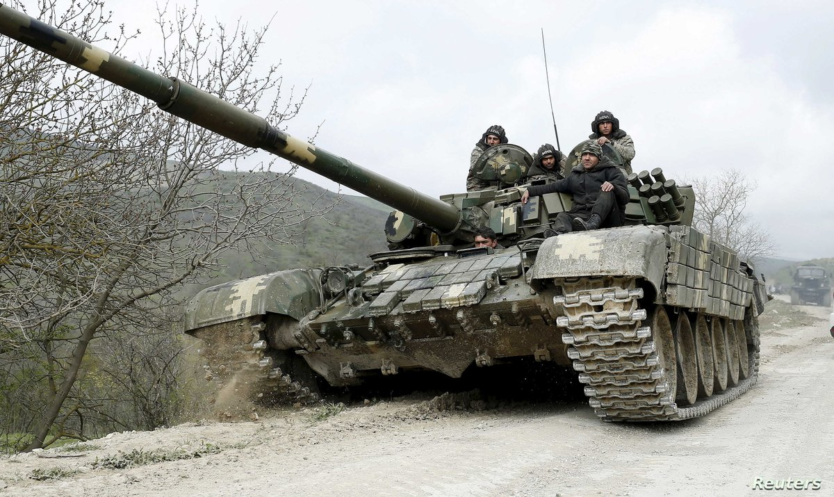 #UPDATE   Armed Forces of #Armenia is using tanks and mortars to shell Azerbaijani positions and nearby villages of #Tovuz district.  𝗡𝗼𝘁𝗲: Armed Forces of #Azerbaijan has already reported 3 losses and 4 wounded.  Please follow @wwwmodgovaz for official updates.pic.twitter.com/9B5LzpJ5Yt