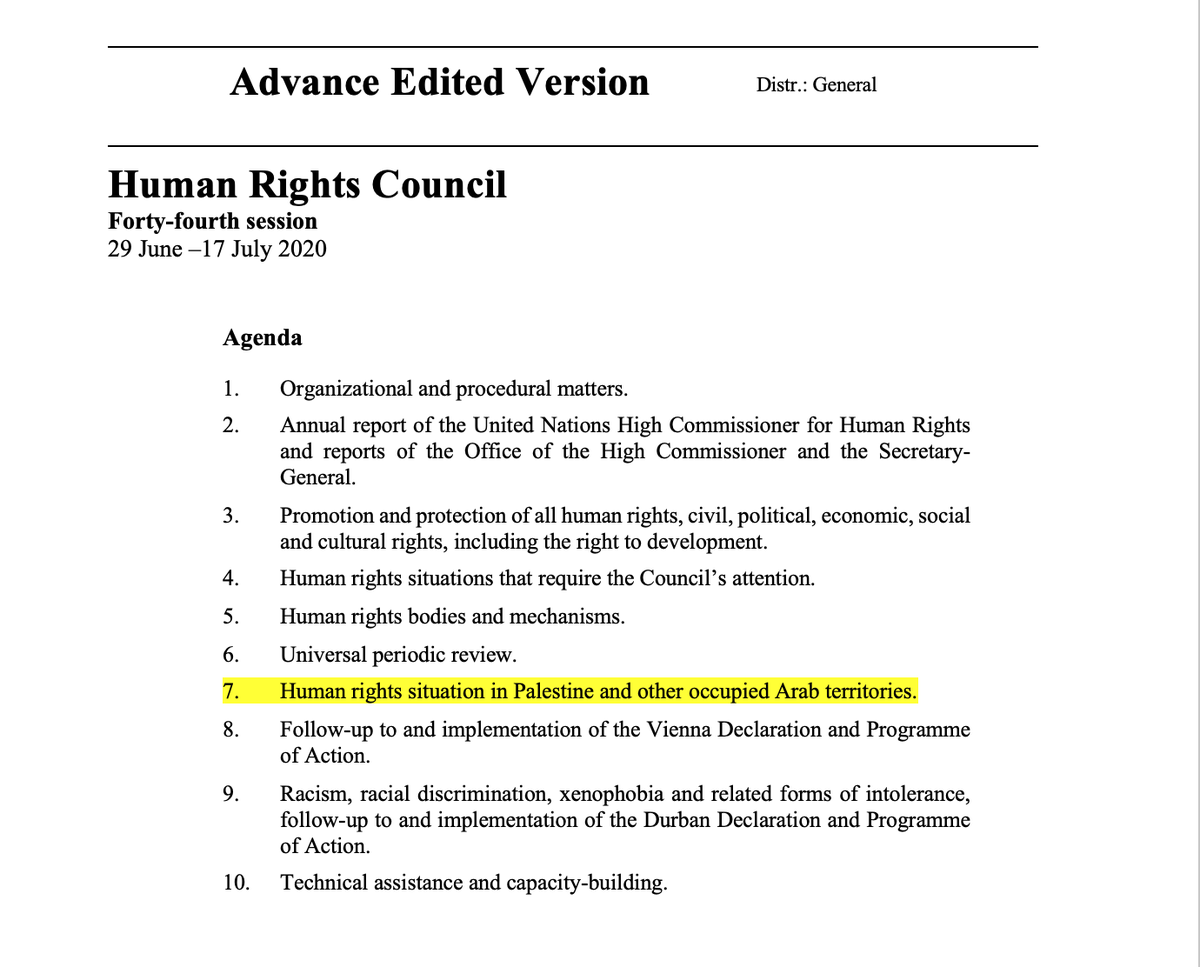 Iran is condemning peaceful protesters to death.  China took over Kong Kong & crushed civil liberties.  Russia renewed the dictator's rule for another 16 years.  Turkey turned the historic Hagia Sophia into a mosque.   This week's UNHRC has only 1 nation on its agenda. <br>http://pic.twitter.com/vjjRMiRUIL
