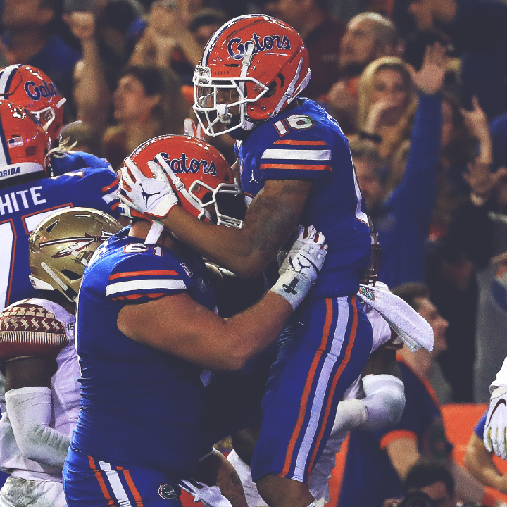 Beat your rival 40-17 ✅ Go undefeated at home ✅ A great ending to the 2019 regular season for @GatorsFB!