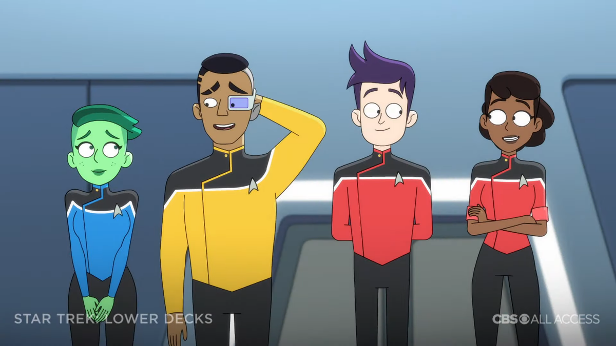 'Star Trek: Lower Decks' trailer shows space as 'the funnest frontier'.