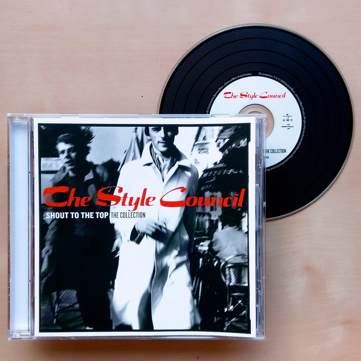 The Style Council – Shout To The Top (The Collection). CD Compilation going to Valencia, Ca. #TheStyleCouncil #ShoutToTheTop #MyEverChangingMoods #YoureTheBestThing #RockMusic #PopMusic #SoulMusic #CDCollector #CDCollectorsOfTwitterpic.twitter.com/xaZtEzVa7i