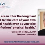 Image for the Tweet beginning: Musings of a Cancer Doctor: