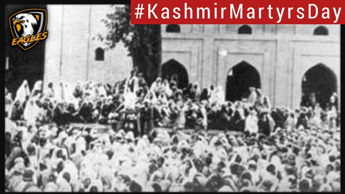 Kashmir, land of courageous and fearless  people. who are fighting the long battle of their freedom for decades. Yet their spirits are high & their hearts are hopeful. inn sha Allah soon their martyr's blood will bring back the colors of the valley &its prople! #KashmirMartyrsDay<br>http://pic.twitter.com/cO3rXCVShp