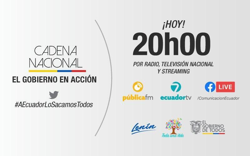 TRANSMISIÓN | No se pierda el resumen de actividades realizadas por el presidente @Lenin Moreno y su gabinete ministerial. #GobiernoEnAcción   #AEcuadorLoSacamosTodos https://t.co/Z0u9BjxUgD