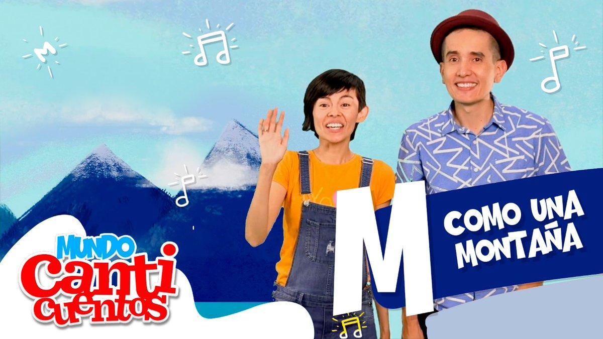 Aprende: Letra M  ¡Es como una Montaña!  ¡Dile a tu Mamá! Al lado del Mar, hacemos la letra Mhttps://bit.ly/123AndresLetraM  #Phonics #SpanishImmersion #BilingualKids #DualLanguage pic.twitter.com/wWuOSnnkK5