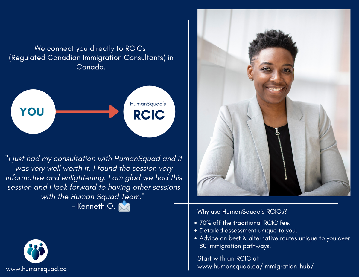 Wherever you are, we connect you directly to an RCIC (Regulated Canadian Immigration Consultant) in Canada. https://t.co/1GmcDVJrEZ