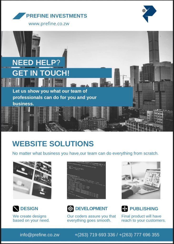 @iMisred If it's not online it does not exist. stay online forever . for all your  website development ,design ,S.E.O. For more contact 0777696355 / 0775693336 or visit https://t.co/FnK68vojaY  Refer a client and get 10% of charged price.  #redmarketsunday #RedmarketSundayExtension https://t.co/elFhu2jCvf