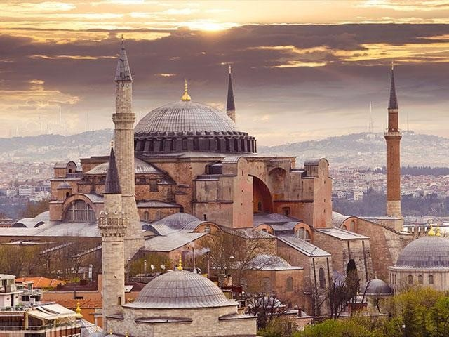 The Hue and Cry of Israel and Other Countries over Conversation of #HagiaSophia into Mosque is because Turkey's Next Goal is Liberation of Aksa. Turkey in Leadership Of President @RTErdogan Will Achieve This Target Also Very Soon. <br>http://pic.twitter.com/77uPkTBxMa
