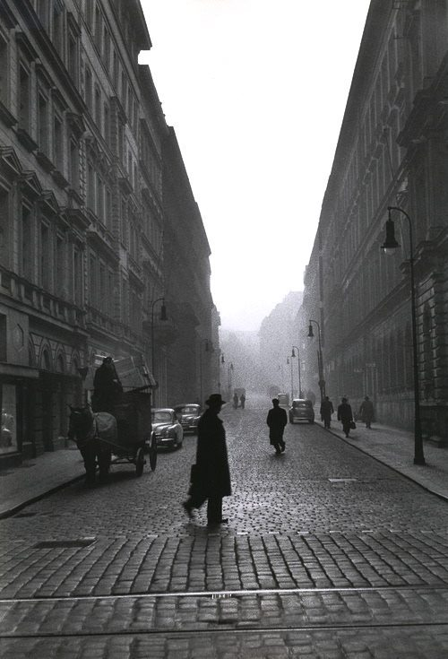 """ moving through urbanic canyons -  The determined motion possibilities and facilities designed as "" Prague 1956 René Burri #photography #fotografia #fotografie #写真 #fotografía #Photographie #사진술 #фотография #Prague #urban https://t.co/EAbI4GYZnn"