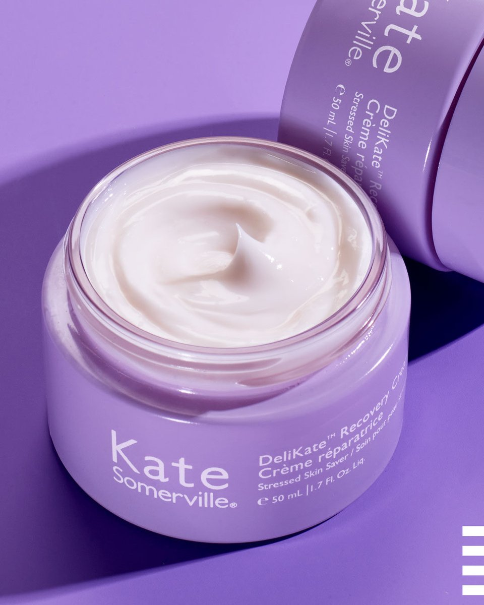 Skin feel all worked up? 🔥🥵️ Take a deep breath with @katesomerville's DeliKate Recovery Cream—it soothes skin, reduces the appearance of redness, and generally helps calm things down. Leave a ❤️ if this one has your name written all over it. https://t.co/b84ED6GXTc https://t.co/2h0uPV7HBA