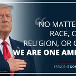 Image for the Tweet beginning: President @realDonaldTrump: No matter our