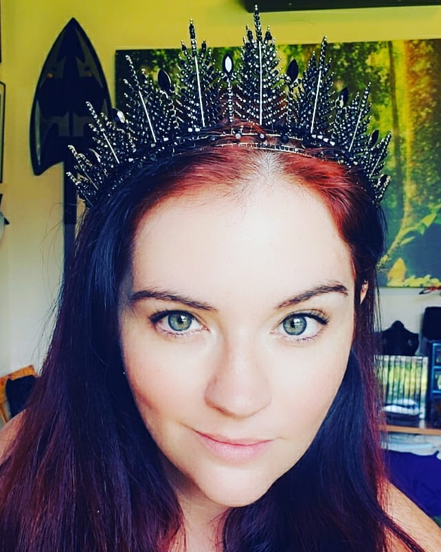 I have two groups of friends doing the tiara game and you get gifted a tiara if you're entered. I was jealous of the pretties because I didn't want to enter since I couldn't donate towards it but someone did it for me lol #tiara #badass #soexcited #nerdsunite #ilovemyfriends https://t.co/TOo9wmXA6T
