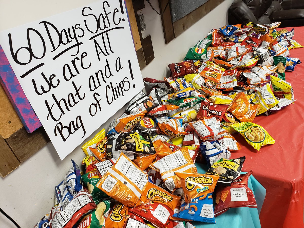 We made it to 60 days safe!! So proud of all the awareness ♡ We are all that and a bag of chips!! #monumental1541 #onfleek #safetyispersonal #infocus @ThePacMan1541 @lindseyTHD @NeriWilliams @LadyofTHD @WhereIsRico21 @HomeDepot https://t.co/2Z6srFDH2K