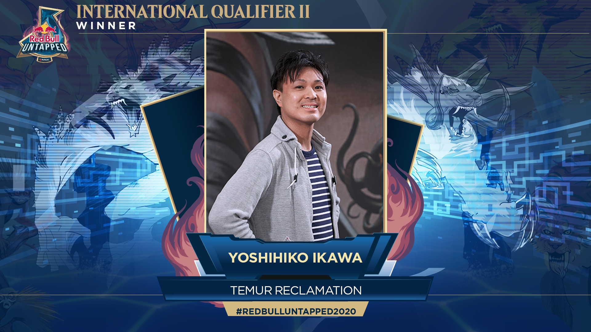 Yoshihiko Ikawa venceu o Qualificatório Internacional II do Red Bull Untapped