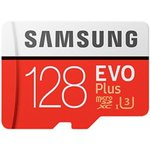Image for the Tweet beginning: Samsung EVO Plus 128GB microSDXC