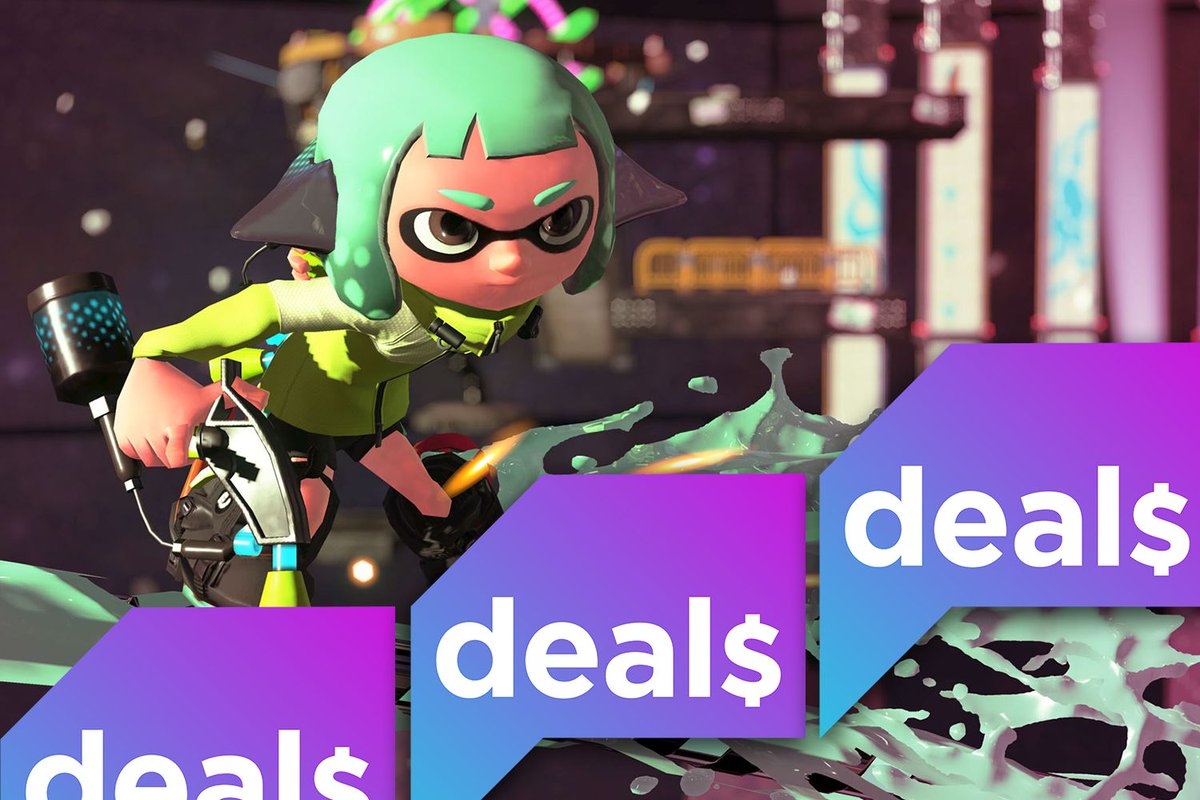 Splatoon 2, Nintendo Switch controllers, and more of the week's best deals polygon.com/deals/2020/7/1…