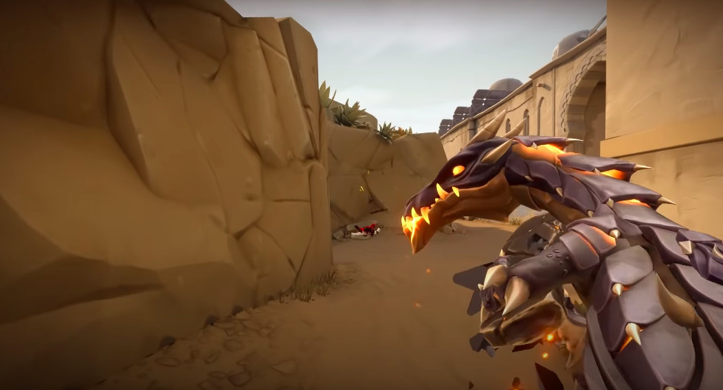 Valorant's latest skins turn your guns into dragons