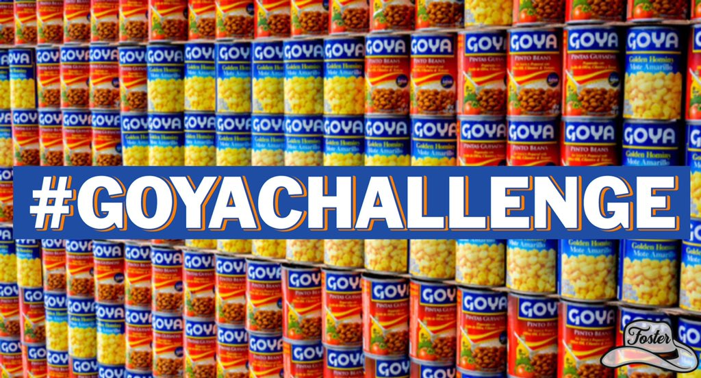 Over the past few days, there has been an effort to Boycott Goya, so let's turn this into something good:  1. BUY Goya Products.  2. DONATE them to Homeless Shelters, Food banks, Senior Homes, etc.  3. POST Pictures and encourage others to do the same!  #GoyaChallenge https://t.co/OeE69Dgliu