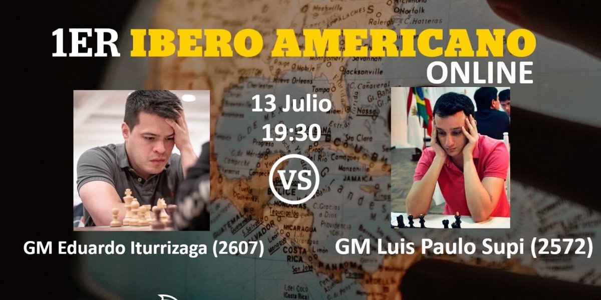 test Twitter Media - Brazilian GM Luis Supi and Venezuelan GM Eduardo Iturrizaga will meet in the final of the Ibero-American Championship.   Tomorrow at 13:30 ET (19:30 in Madrid) on @chess24com   https://t.co/29k5mYVQFD   #Ajedrez #FEDA #chess https://t.co/9F2RSCoyBu