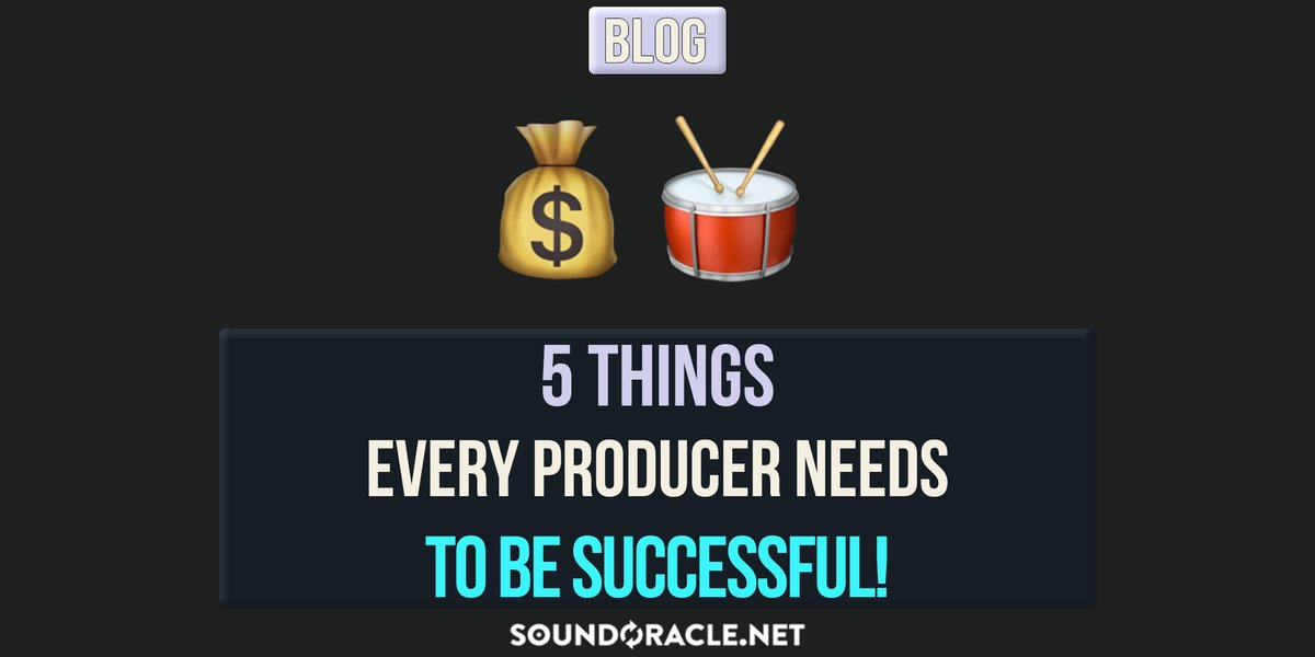 Read more: https://t.co/V9P5W6U0vO  There are five core skills that successful music producers possess. Let us have a look at them.  5 Things Every Producer Needs To Be Successful   #MusicProducer #BeatMaker @SoundOracle @Realistic_Pro https://t.co/ETIauIwfdC