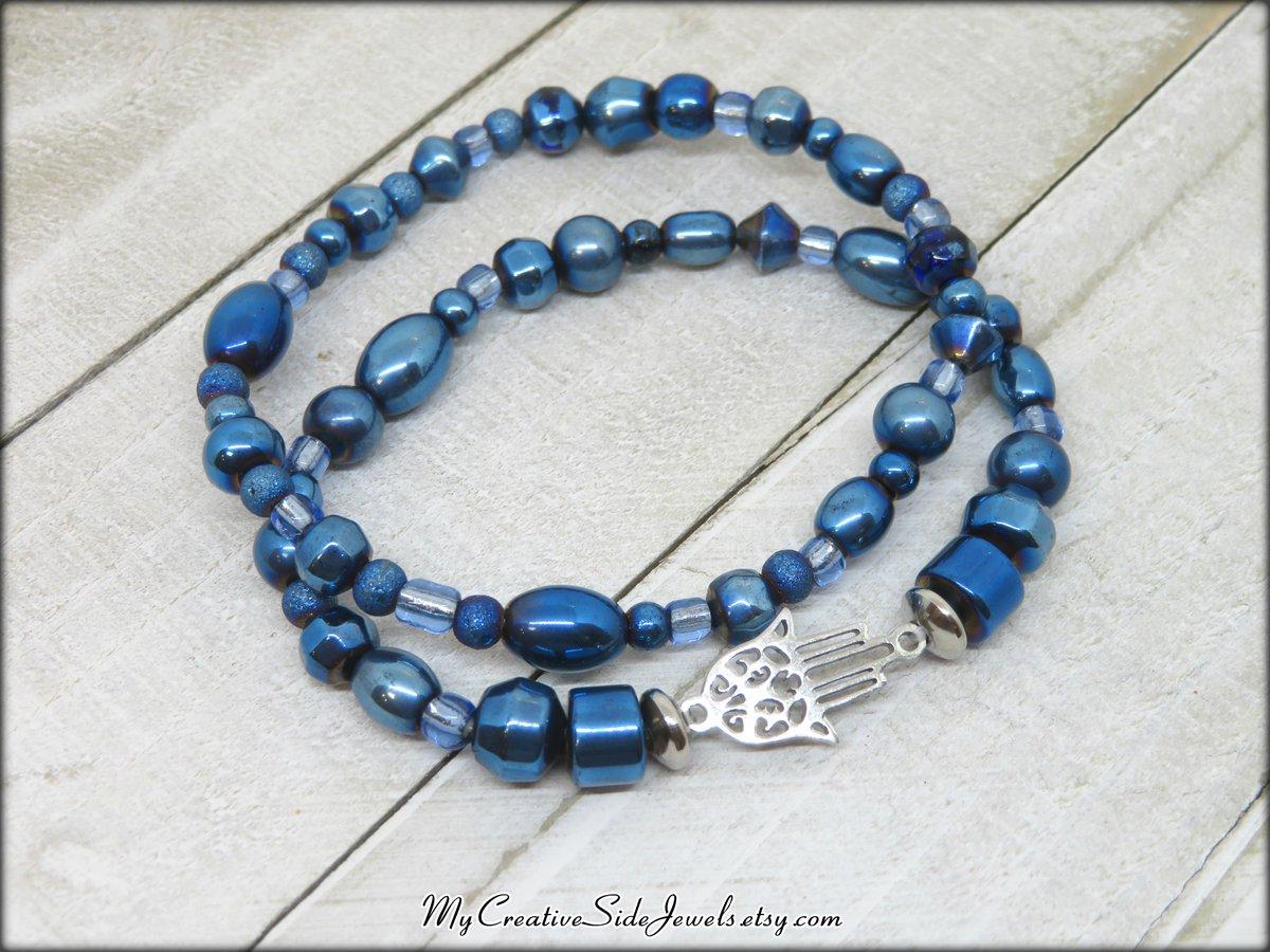 Boho chic bracelet duo. SHOP: https://www.etsy.com/listing/834916041… #bracelets #bluebracelets #hamsa #hamsajewelry #hamsabracelet #symbolicjewelry #positivevibes #bohochicjewelry #metallicblue #handmadejewelry #jewelry #bohochic #jewelrylover #etsymntt #etsyteamunity #etsyspecialt #integrityttpic.twitter.com/nQgSObV5bh