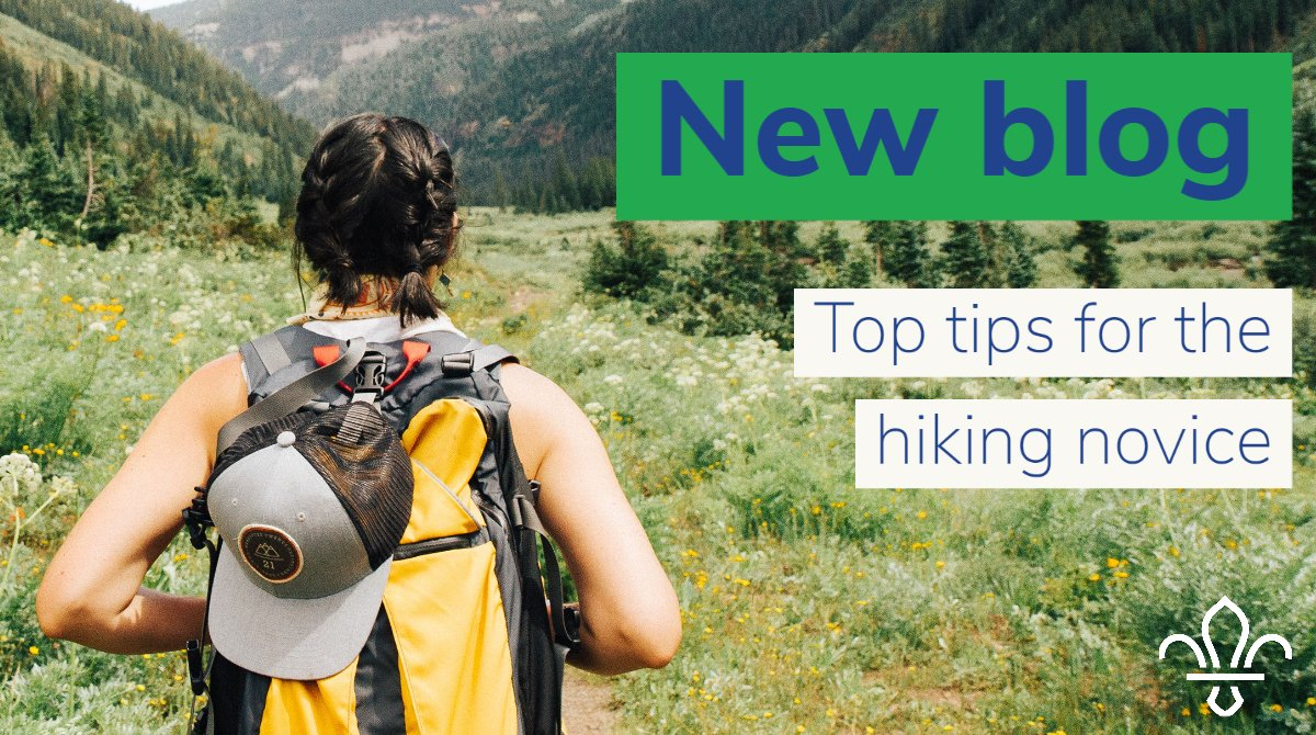 Have you seen our latest blog? Read it here https://t.co/d4og9E94A1 #hikingnovice #toptips #scouts https://t.co/O1qIEAUH8c