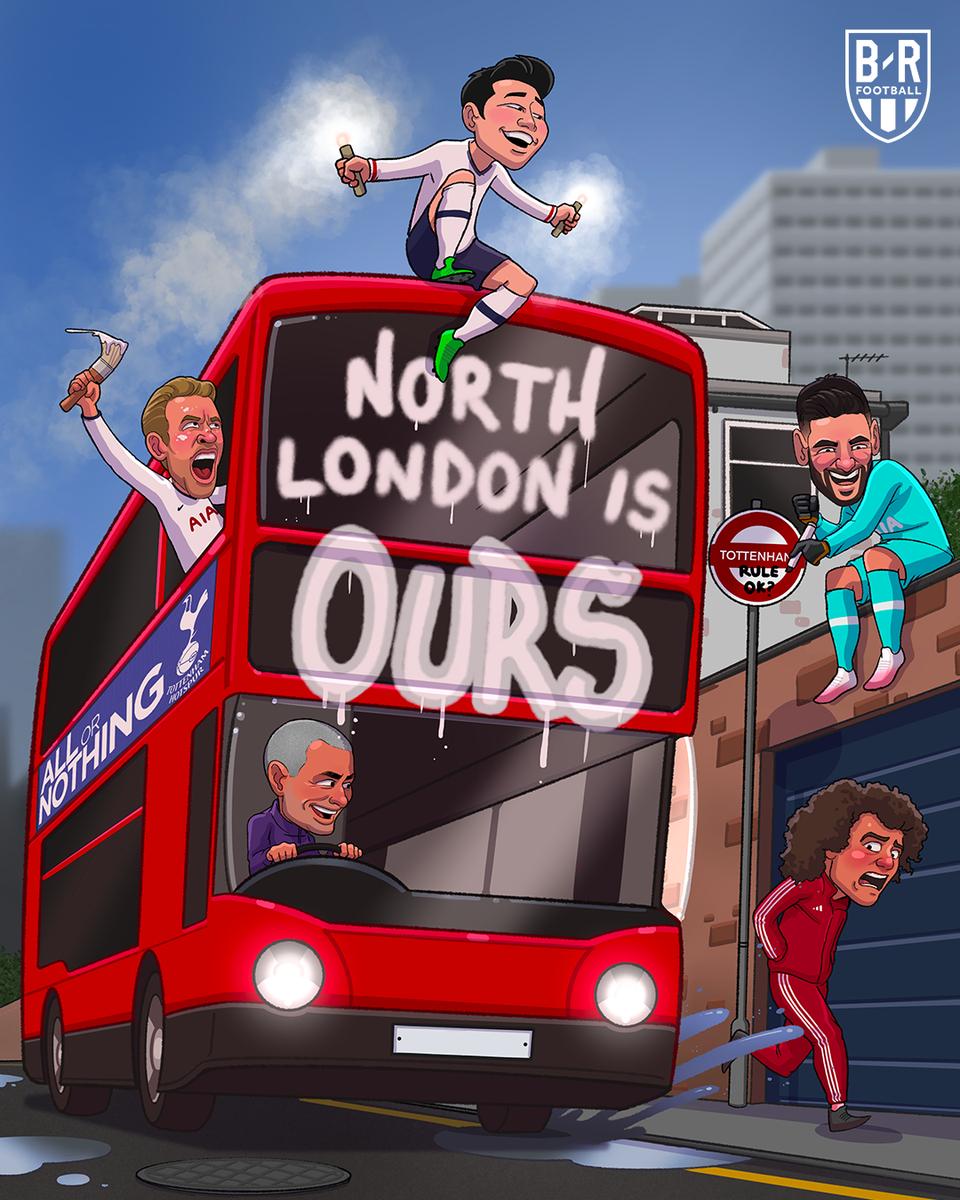 Spurs paint North London white ⚪️