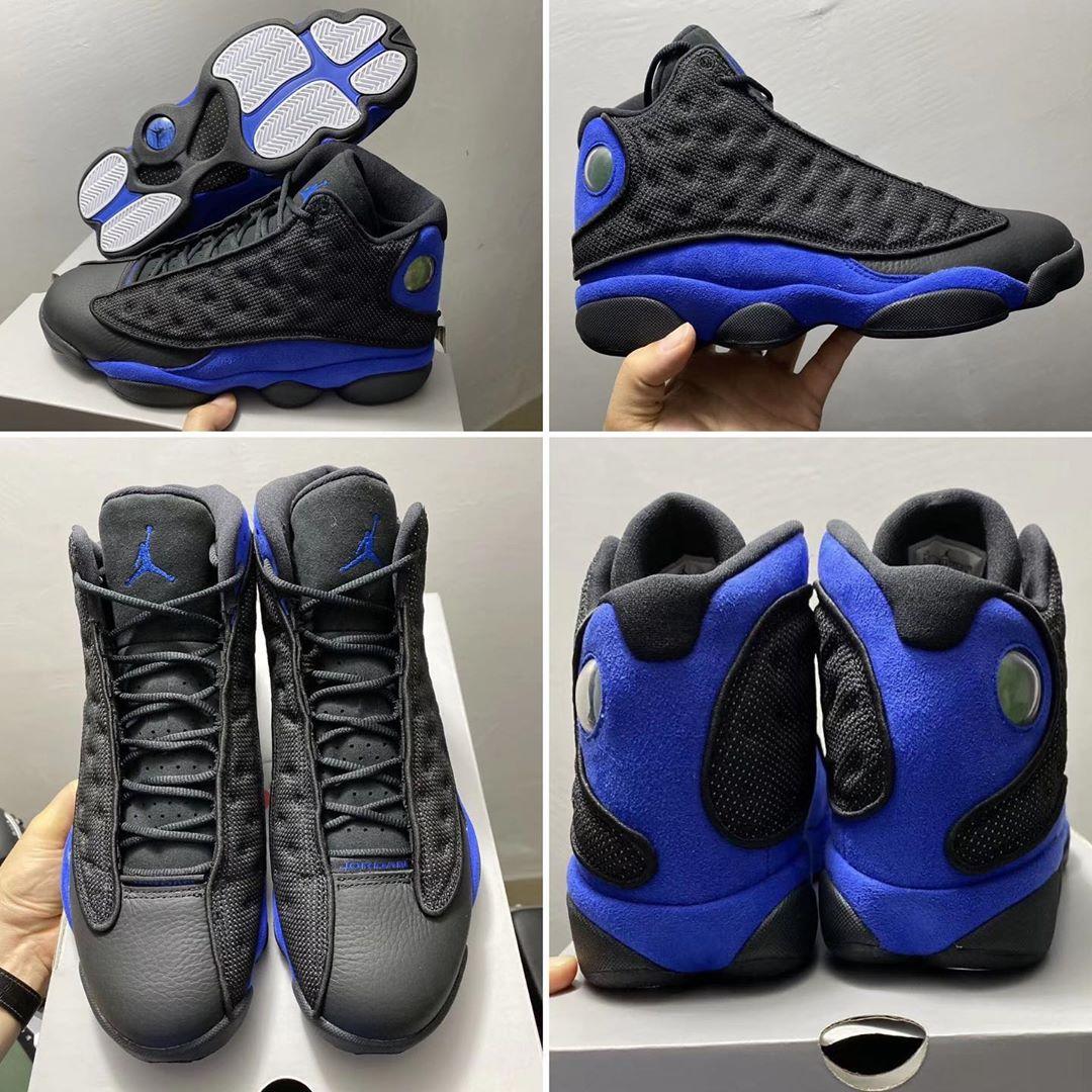 Justfreshkicks On Twitter First Look Air Jordan 13 Black Hyper Royal Https T Co Nmn0wfbcph
