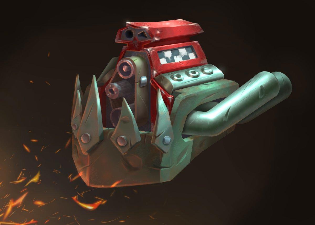 Orcs engine (5/10)  #ten4ivan #smirnovschool #SmirnovStudent #студентыsmirnovschool #CGBasics #warhammer40k #wh40k #orkz #orcs #NatCH #cgart #digitalart https://t.co/TAV9UnoTpe