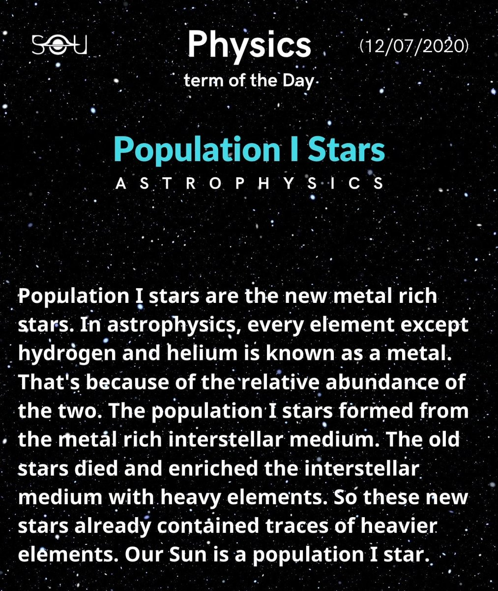 Physics Term Of The Day (12/07/2020)  #Astrophysics #Physics pic.twitter.com/D5On6UBcz7
