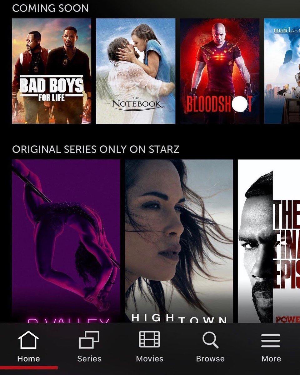 I got Bad Boys for Life Coming to the STARZ app my boy @realmartymar & #WillSmith #bransoncognac #lecheminduroi