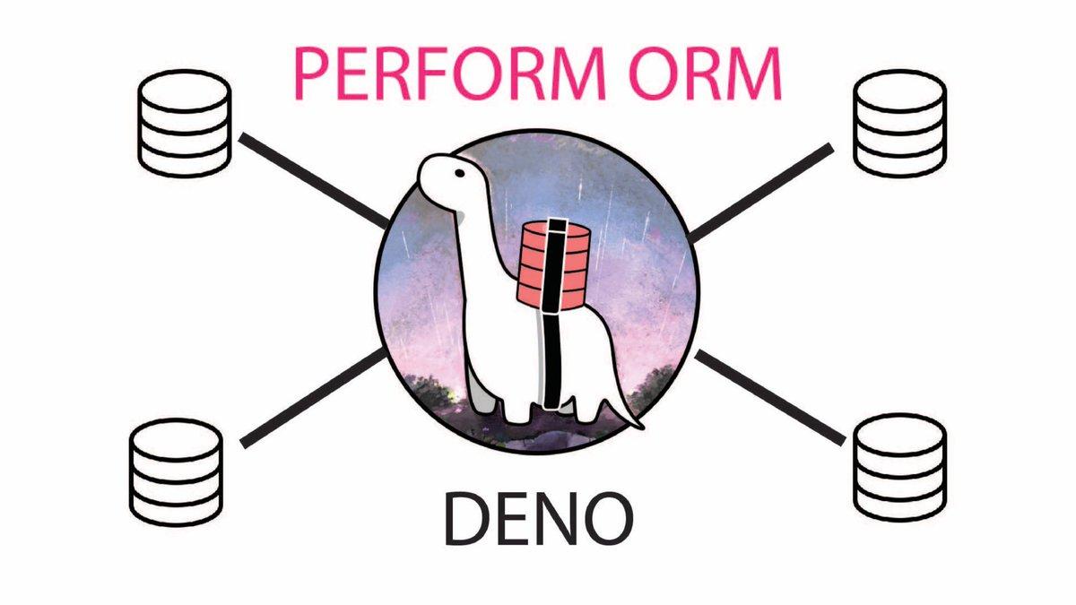 Perform ORM using Postgres DB in #deno   https://youtu.be/-KuFA3mMyvE  #NodeJS #100DaysOfCode #WebDeveloper #webdevelopment #servers #TypeScript #CodeNewbie #code #programming #code #technology #javascript #Deno #womenintech #WomenWhoCodepic.twitter.com/BY6IfIS2ea