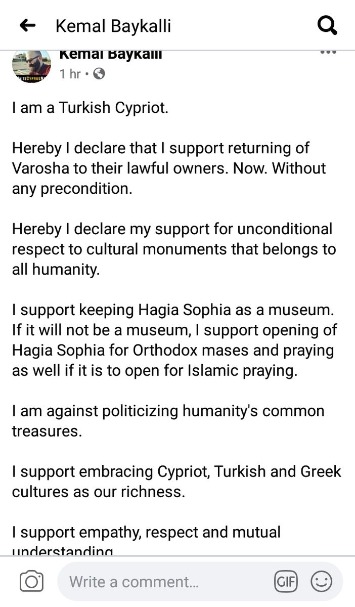 I am a Turkish Cypriot and I support.. https://t.co/06OKmYn2EI