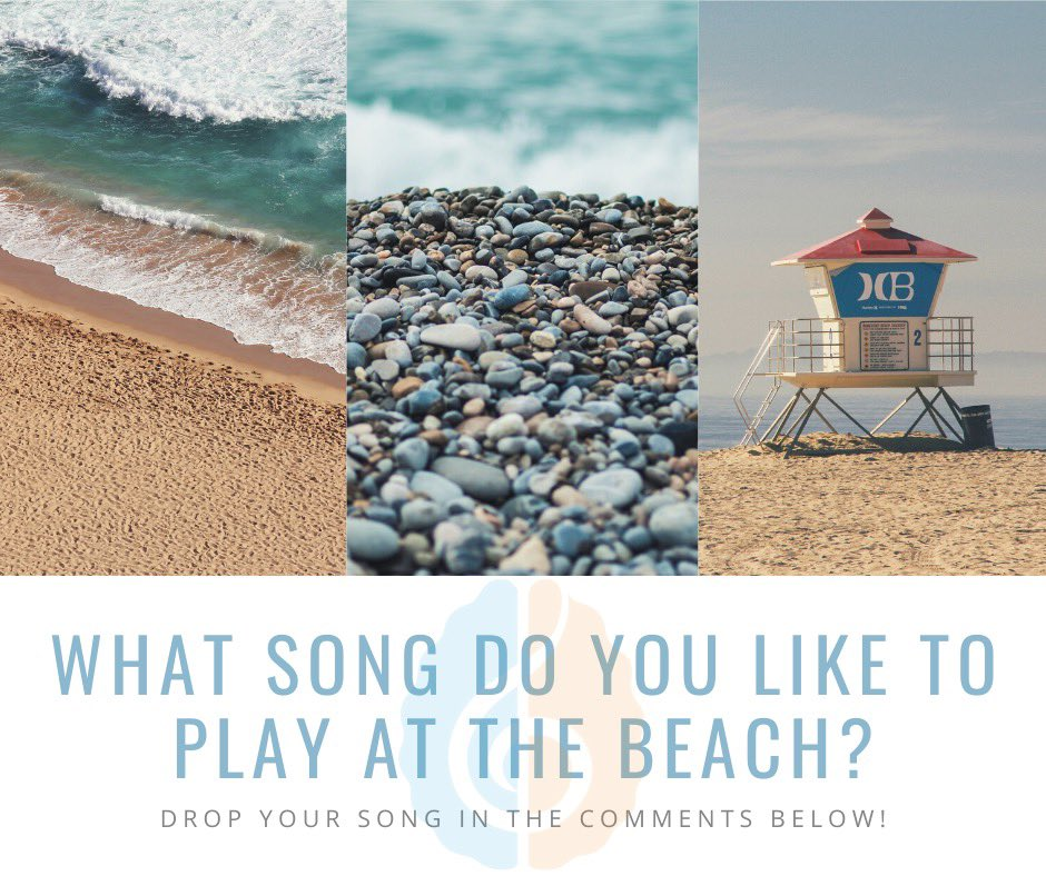 What's your favourite song to add to your beach/summer playlist? Drop your song in the comments below!  #musictherapy #musicheals #musictherapyadvocacy #beinginnature #mindandbody #sunnydays #summer #musicinjuly #summerplaylist https://t.co/Dd9iBLWYUq