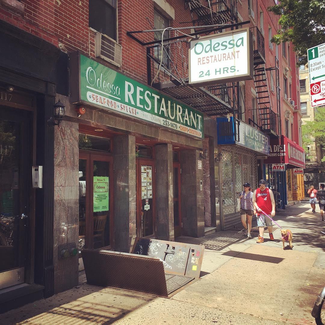 sad news: East Village diner Odessa Restaurant closing for good next week https://t.co/TiXHAMkbn1 https://t.co/cgRkCIFhns